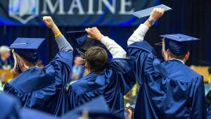 UMaine students at Commencement