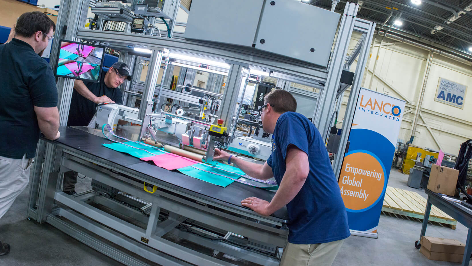 featured image for AMC, Westbrook company collaborate to build automation machine for L.L.Bean