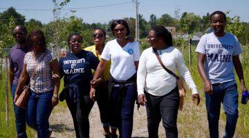 2016 Mandela fellows at UMaine