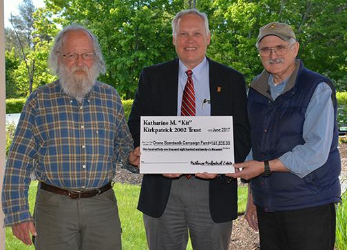 Boardwalk donation