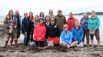 Educators at seaweed bootcamp