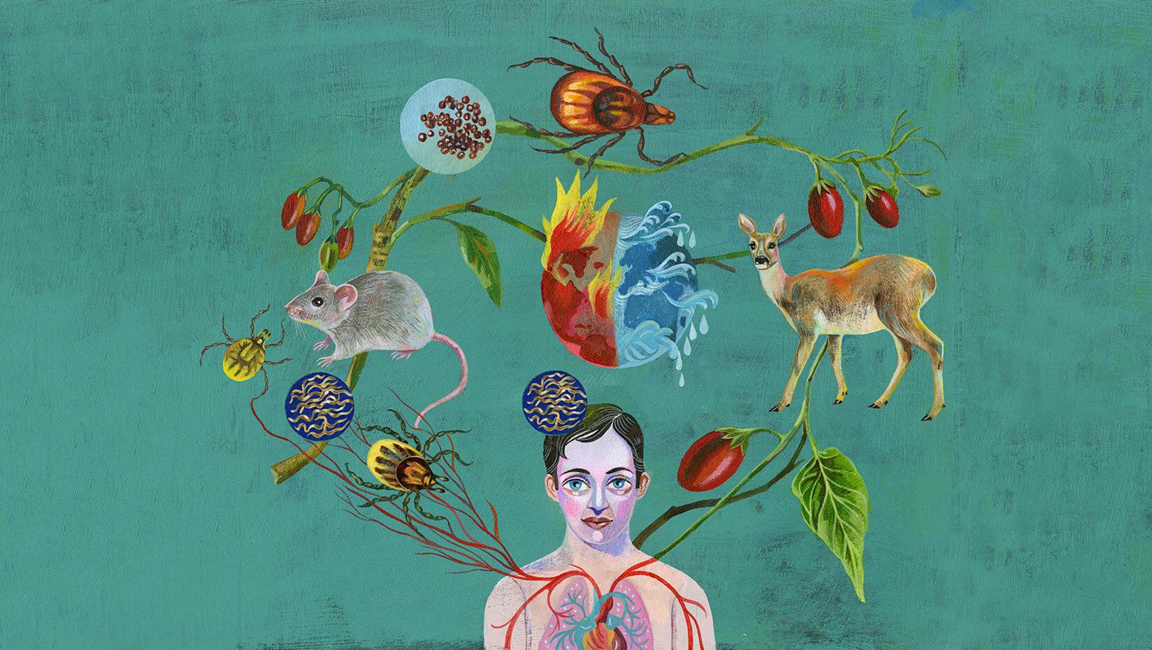 Lyme disease art