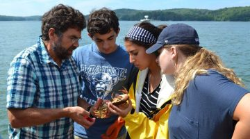 Marine sciences students attend boot camp
