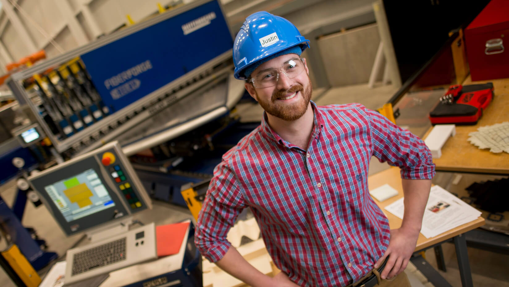 featured image for Justin Baron: from Madawaska to Paris, mechanical engineering technology's a good fit