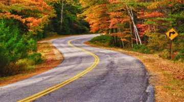 Rural community road