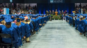 UMaine's 215 Commencement