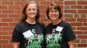 Barbara Clewley and Martha Gladstone