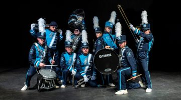 UMaine's marching band