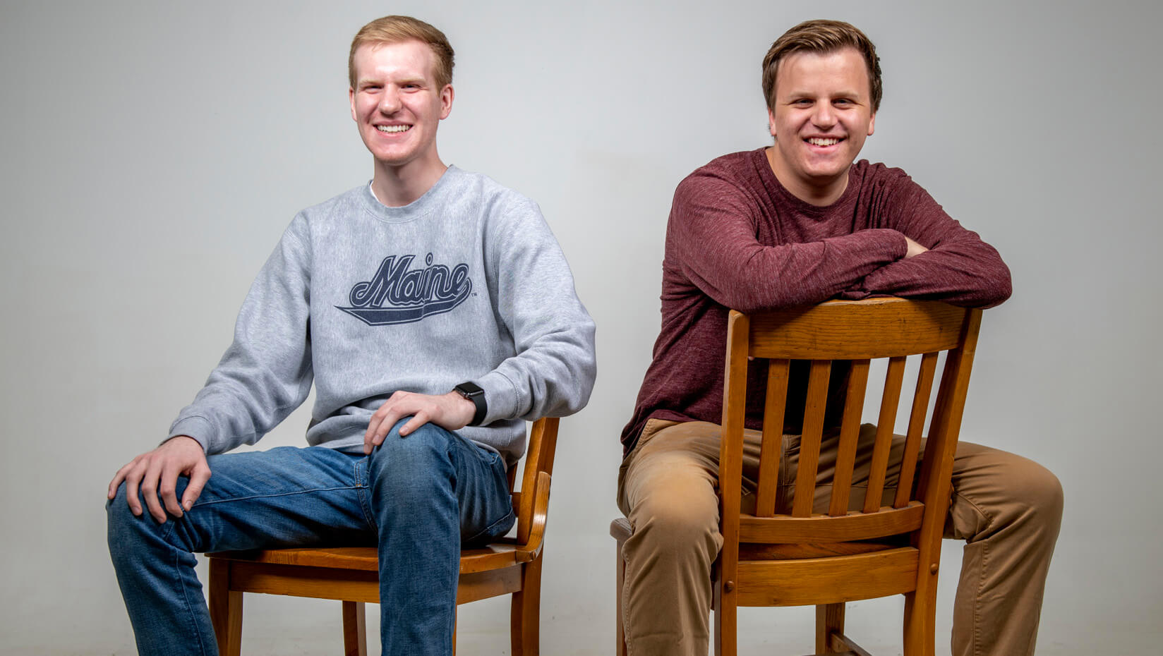 featured image for Charlie and Ryan Gardner: Brothers two years apart graduate together