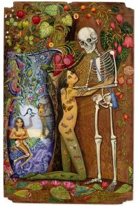 The Painter and her skeleton