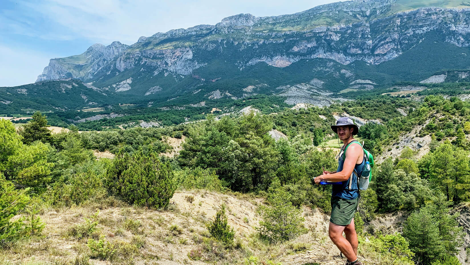 Liam Flynn: Earth and climate sciences student maps geology in Pyrenees