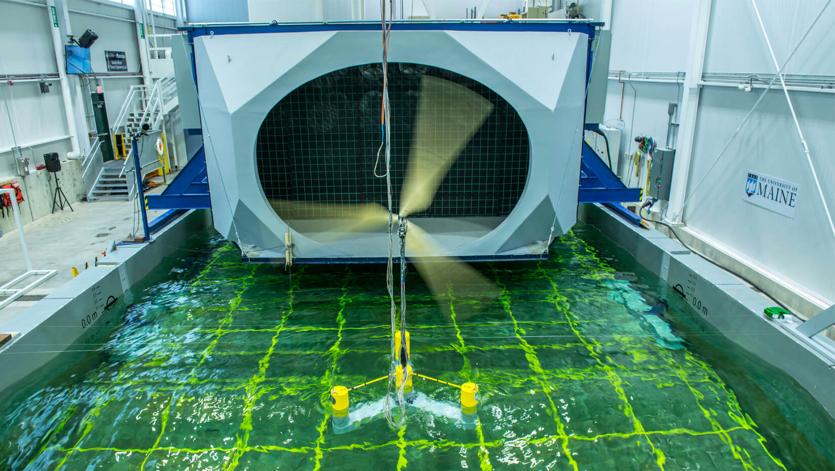 featured image for UMaine awarded nearly $1.4 million for transformational floating offshore wind energy technology