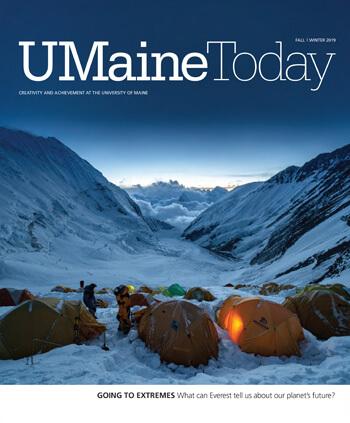 UMaine Today Fall/Winter 2019 Cover