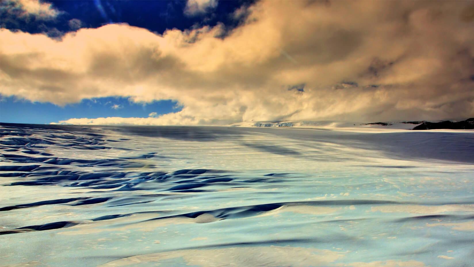 The remote Allan Hills in Antarctica