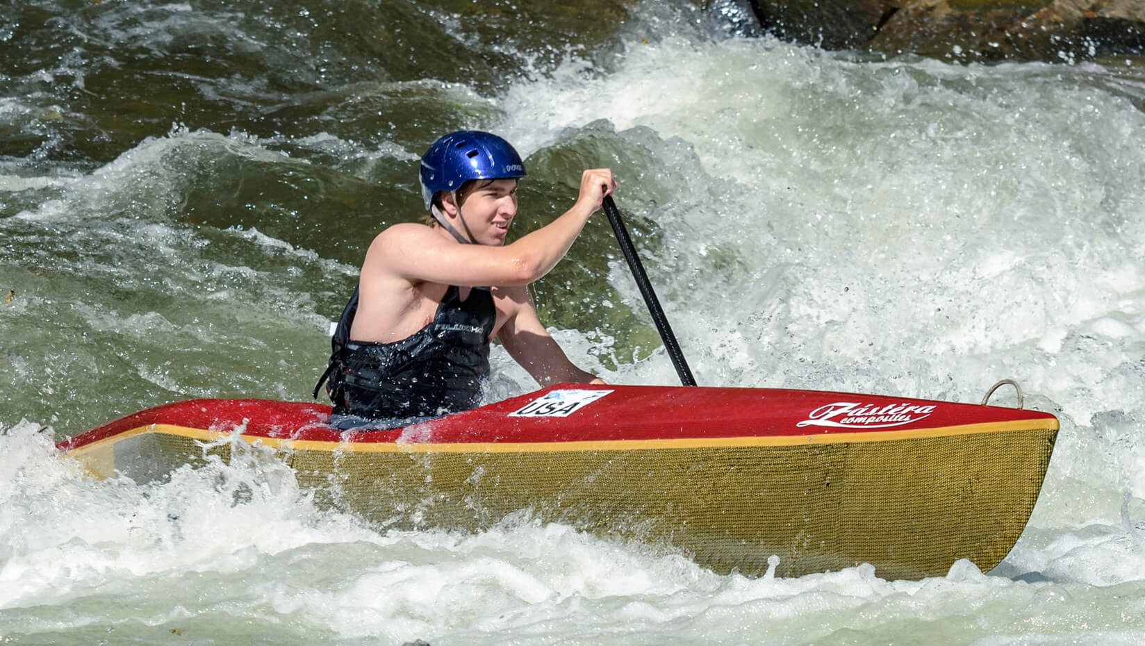 featured image for Fremouw to compete at international level in wildwater canoeing