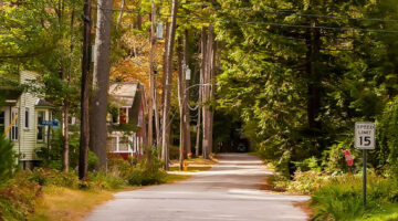 Rural Maine community