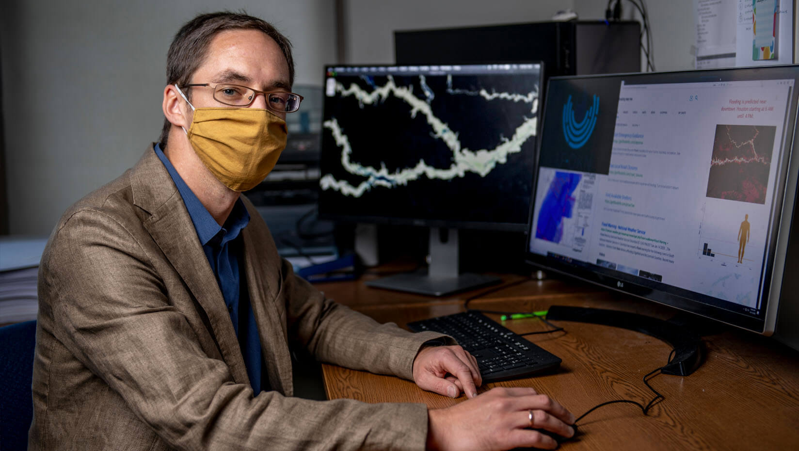 UMaine computer scientist helps develop NSF-backed AI to predict, track flood damage to city infrastructure, services