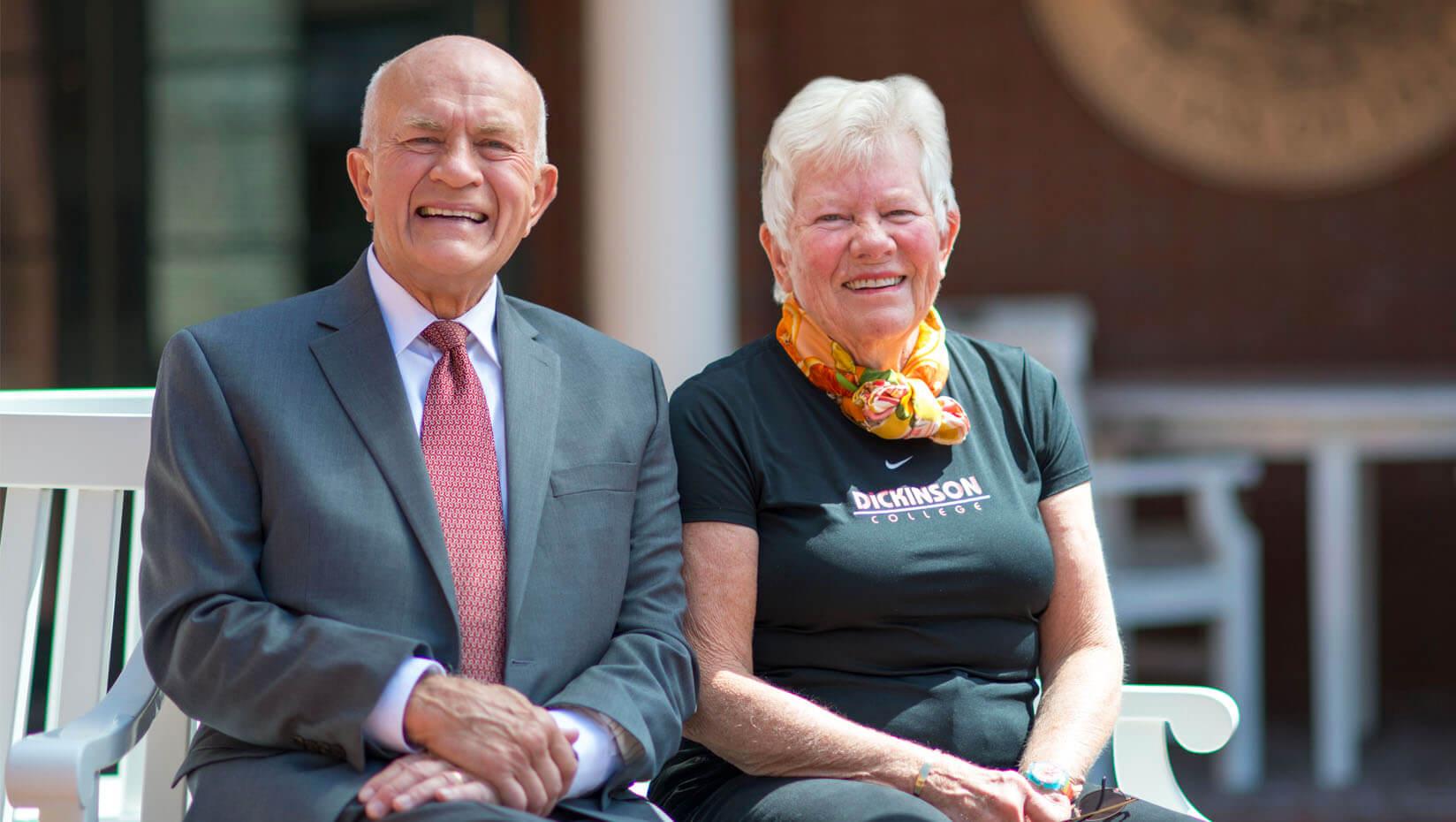 Dan and Betty Churchill