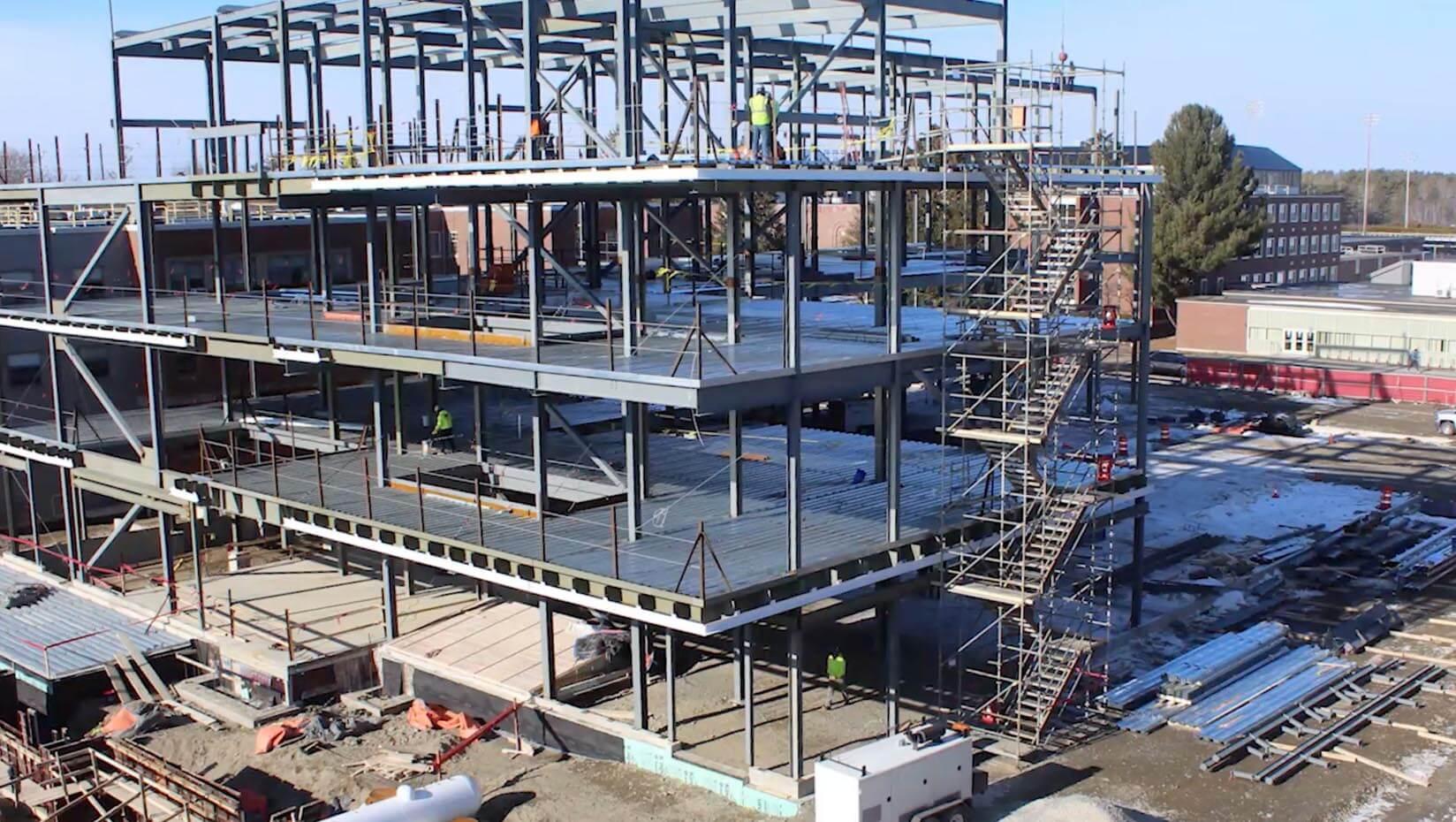 EEDC building construction