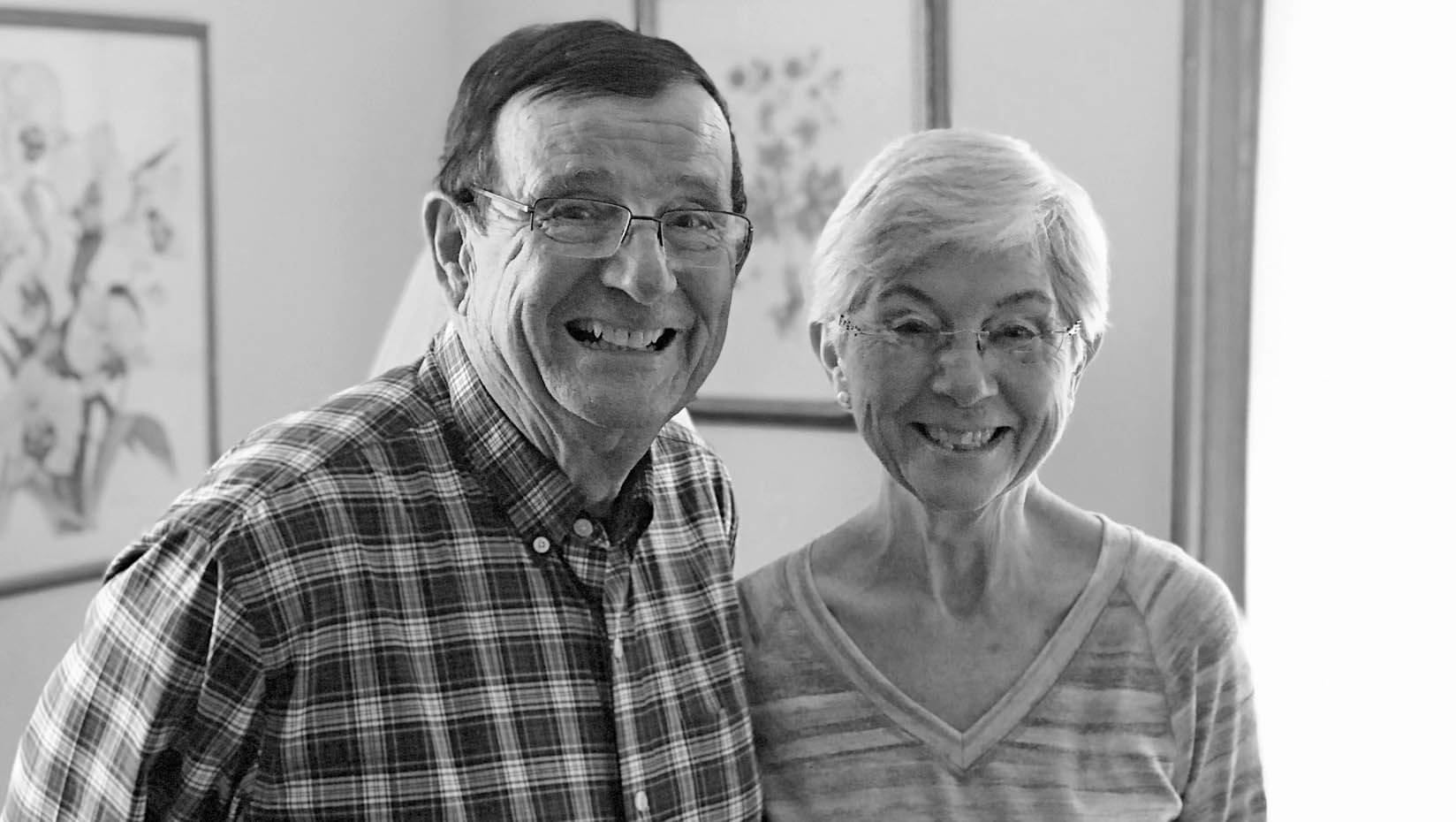 Joe and Sue Cyr