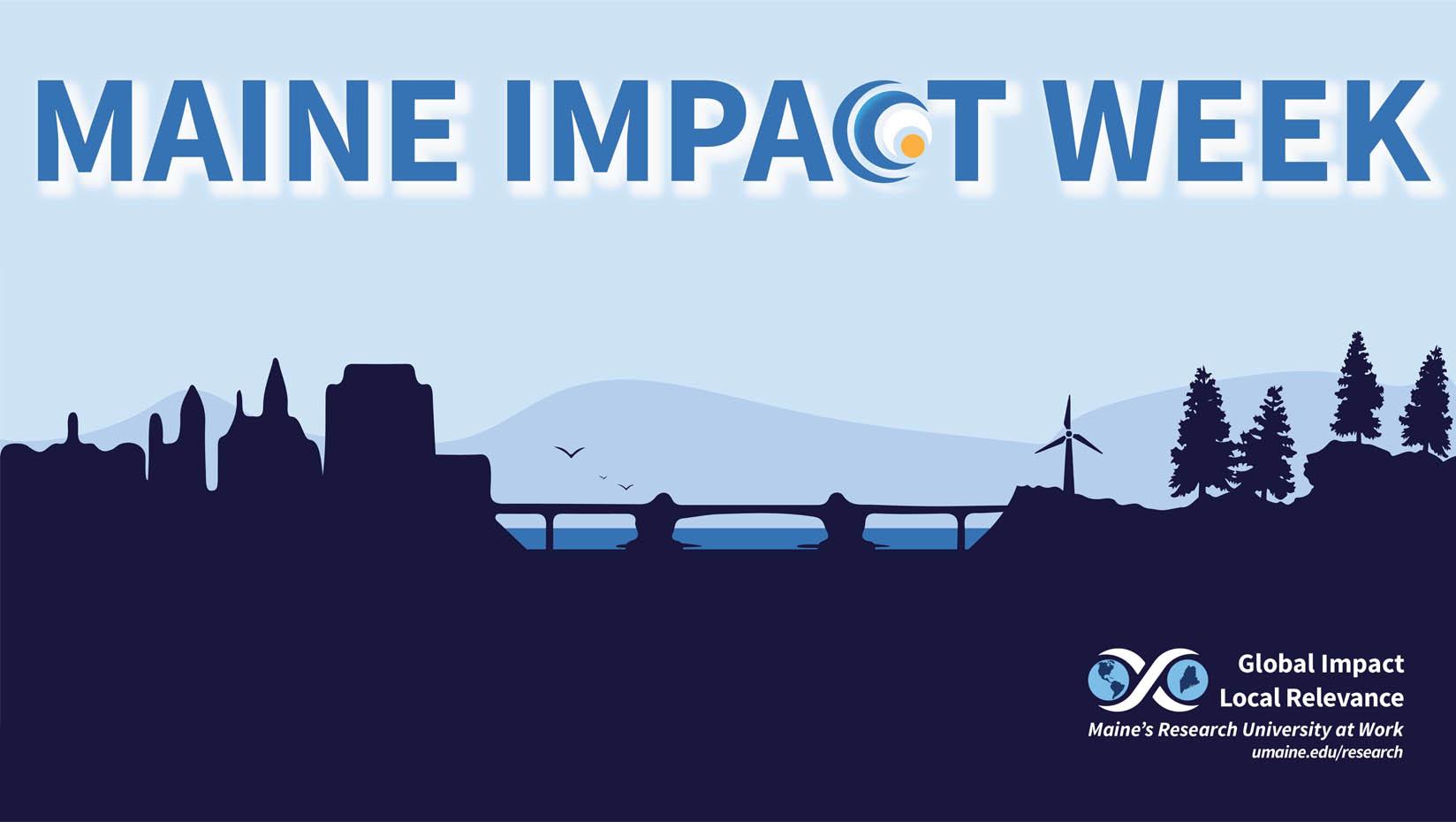 Maine Impact Week graphic