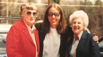 Peg Ayer, Carole Goldberg and Yvette Hule