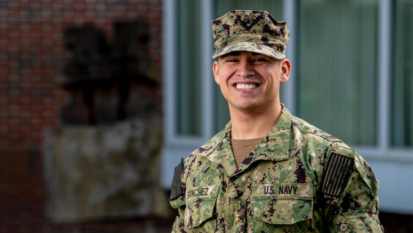 featured image for Brian Sanchez: Pathways graduate excels in NROTC, engineering