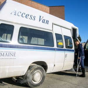 Handicap access van