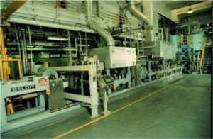 PDC's paper machine