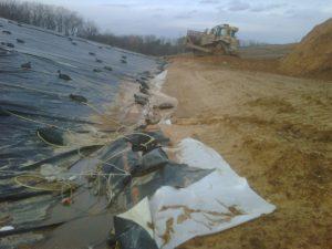 A landfill using Zeomatrix technology