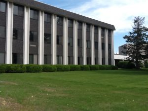 The exterior of Jenness Hall