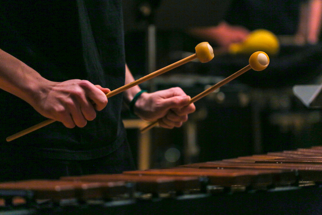 mallets and xylophone