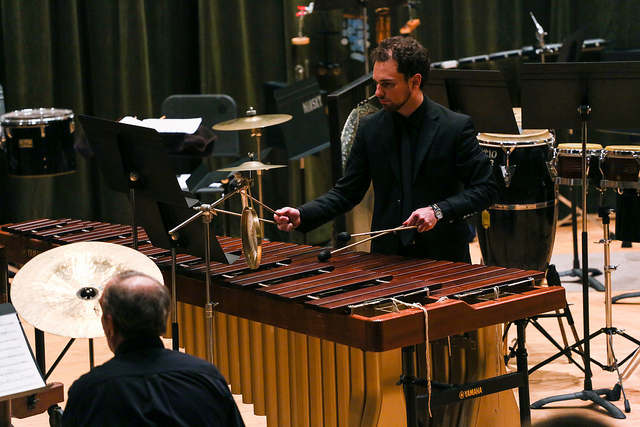 percussion in minsky hall