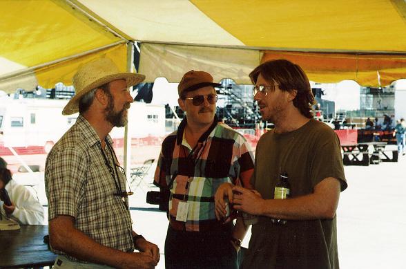 Stuart Marrs, Bob Bahr, and Trey Anastasio discuss the performance