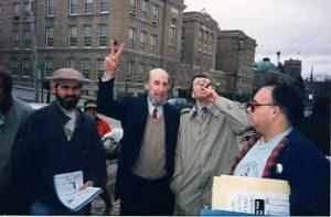 peace sign from Douglas allen