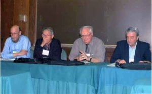 panel of faculty