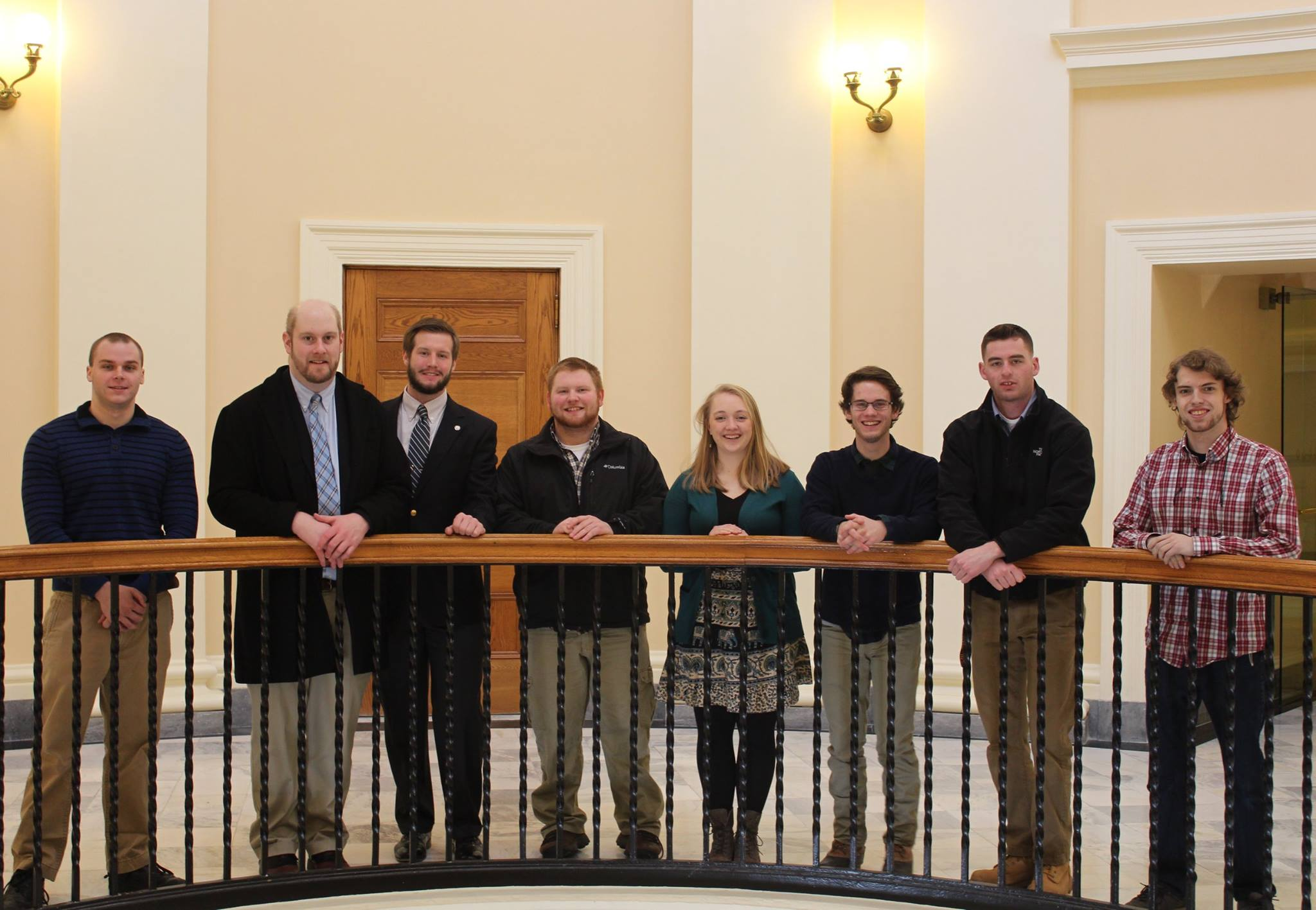 UMaine students at Maine State House