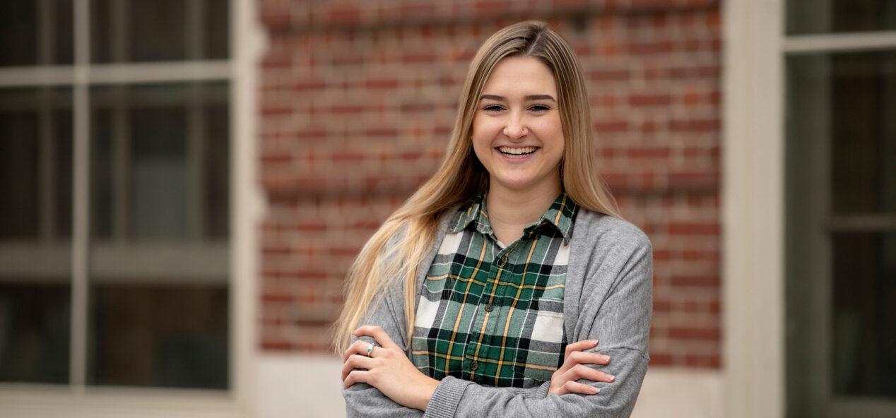 portrait of student Arielle