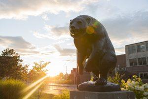 Black Bear Statue