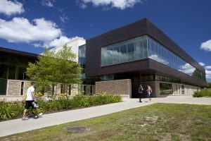 View of New Balance Recreation Center