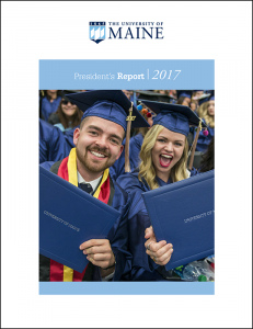 2017 President's Report cover image