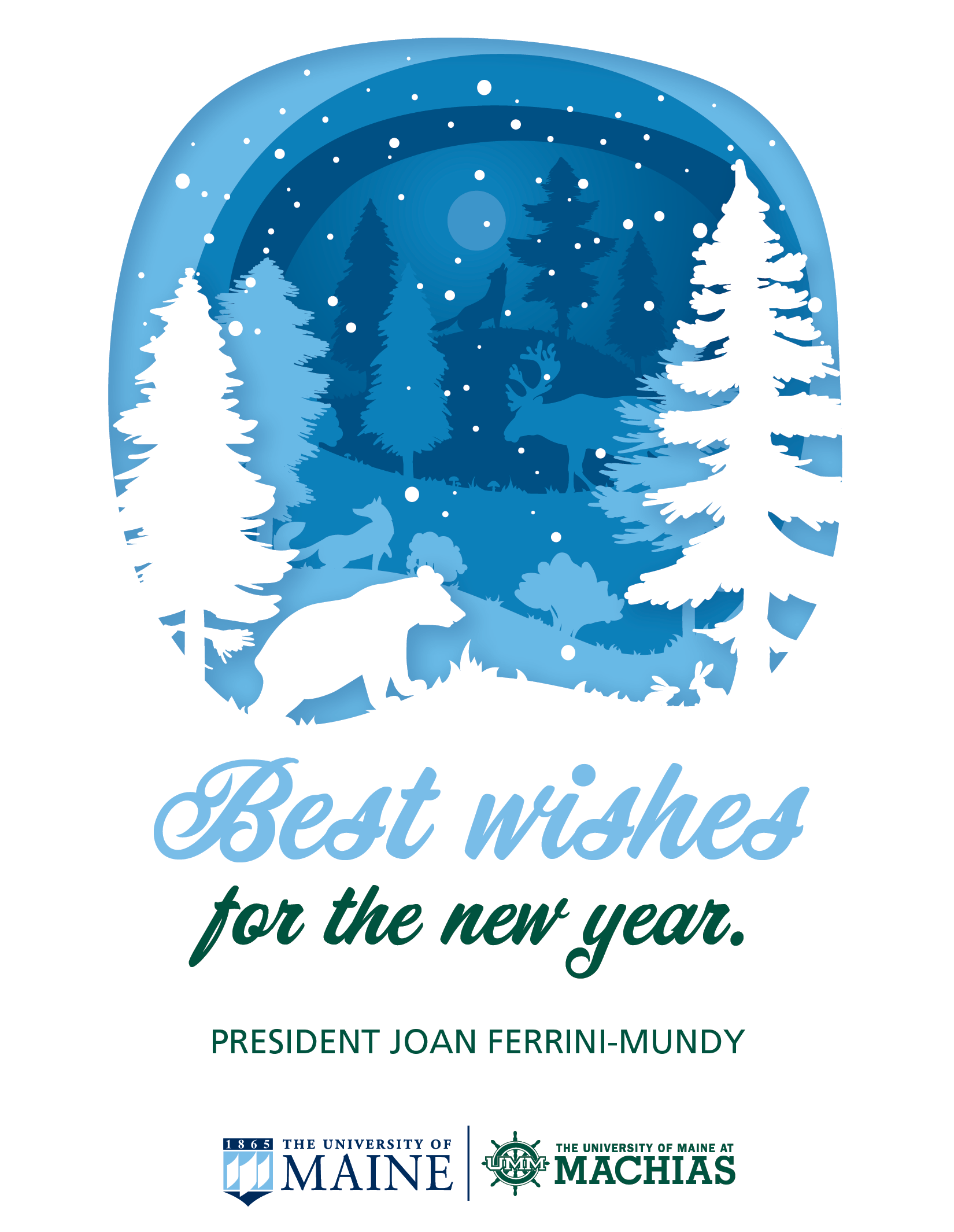 Best Wishes for the New Year, from President Joan Ferrini-Mundy