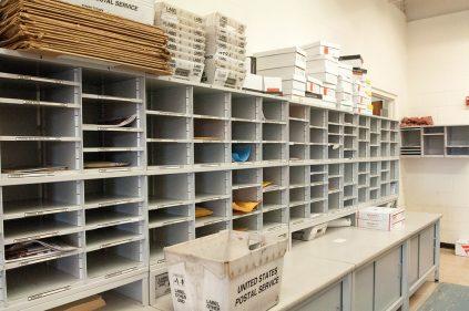 Departmental mailboxes
