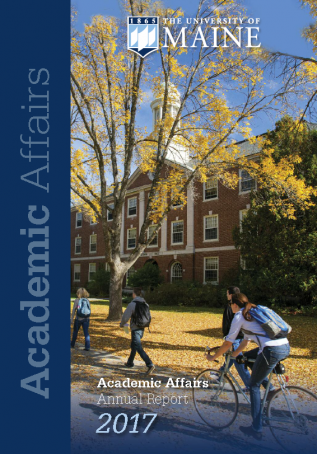 Academic Affairs Annual Report 2017 cover image