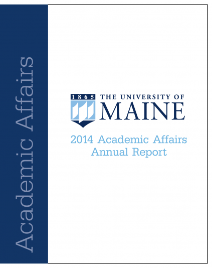 2014 Academic Affairs Annual Report