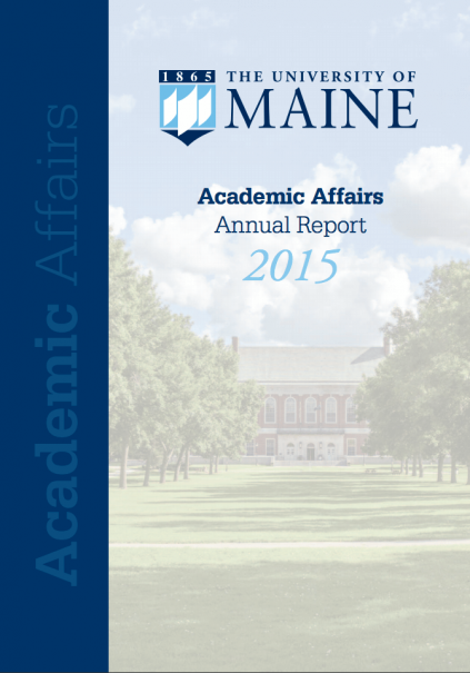 Cover image for Academic Affairs Annual Report 2015