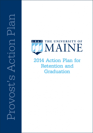 Cover image of Action Plan for Retention and Graduation 2014