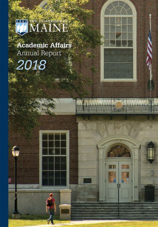 Academic Affairs 2018 Annual Report cover image