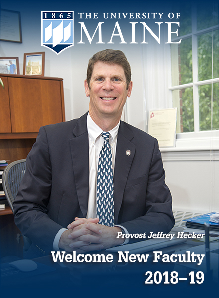 The University of Maine | Welcome New Faculty 2018-19