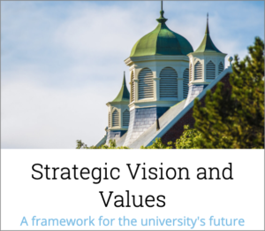 Strategic Vision and Values | A framework for the university's future